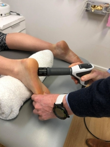 Podiatry Shockwave therapy