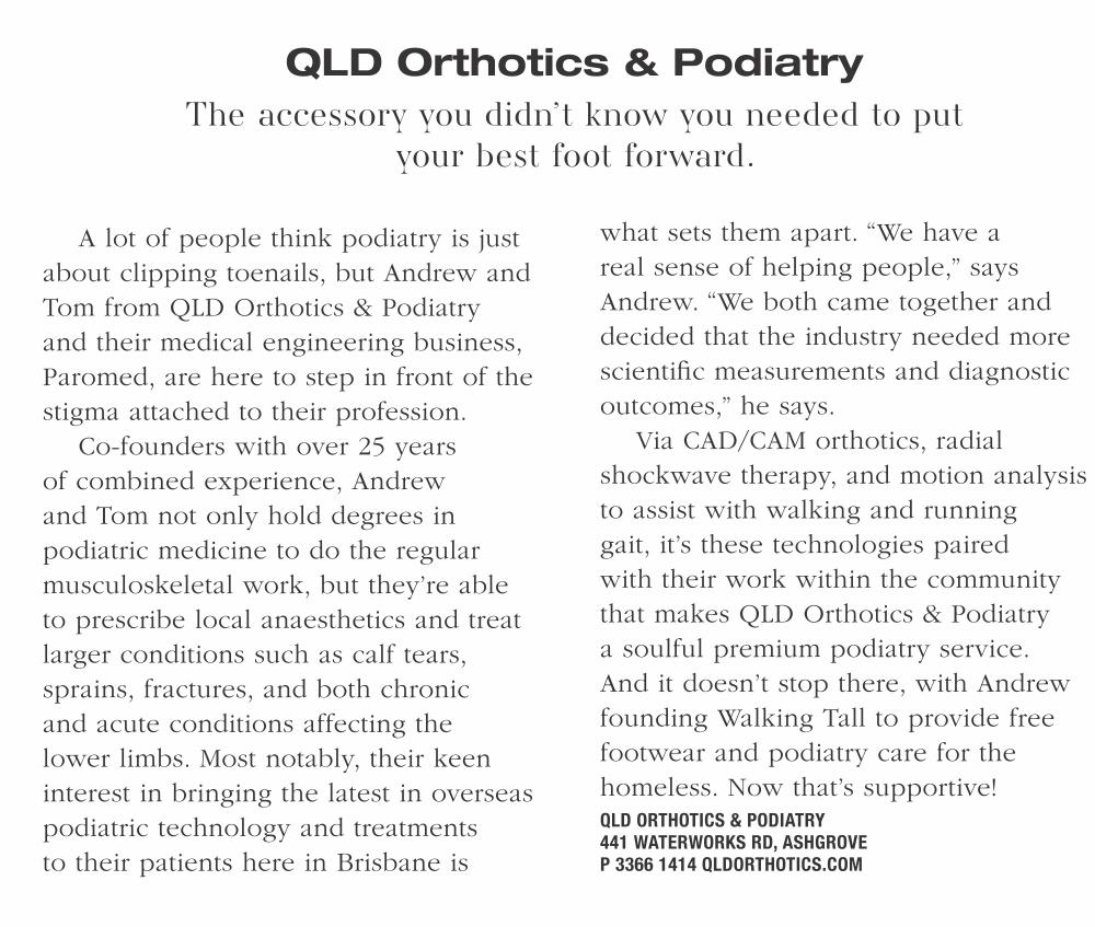 Style Magazine Qld Orthotics